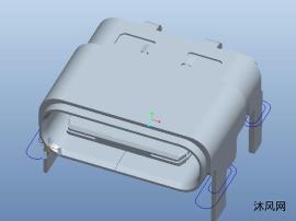 USB3.0连接器模型设计