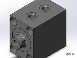 BVZ帶有防旋轉活塞桿的方形液壓缸(共5件)