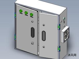 电柜的模型图