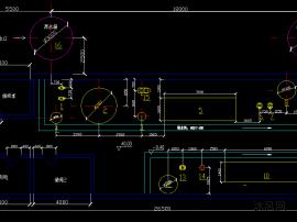 鋼鐵工業循環水凈水處理設備安裝圖紙