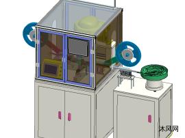 CCD检测包装机模型设计