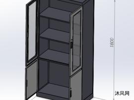 高端办公柜模型