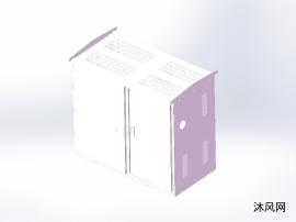 低壓開關柜三維模型