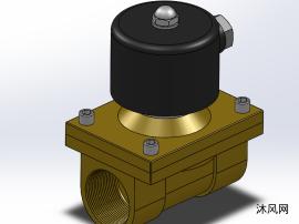 8款 2W黄铜系列二位二通直动式电磁阀