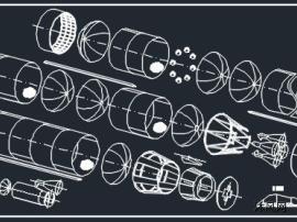 重型运载火箭图纸