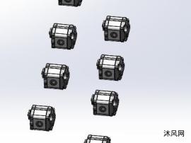 8款CBKA-FC齿轮泵 内啮合齿轮泵