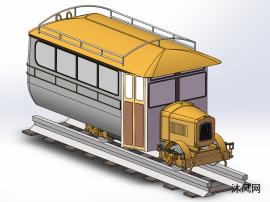 爱尔兰轨道车模型