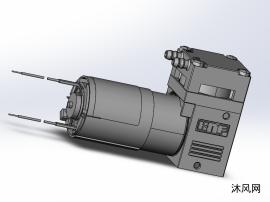 微型气体活塞泵