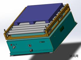 磁导航带滚筒AGV
