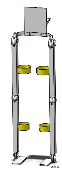 下肢外骨骼机器人模型