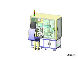 自动外壳弧面贴膜机
