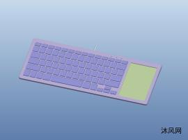 带触摸功能的键盘结构设计