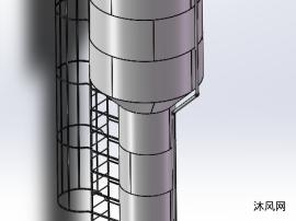 20立方米水箱三维模型设计