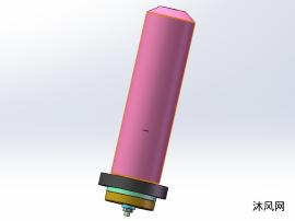 液压柱塞缸模型