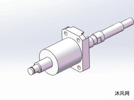 5款SDF31系列研磨滚珠丝杆模型