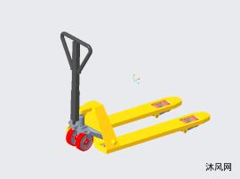 手动液压叉车设计模型
