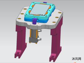 OPPO手机后壳钻雕治具(内含产品模型)