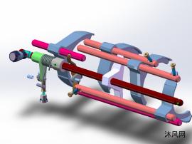 手动6速变速箱模型