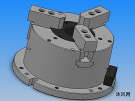 MO系列前置立式中空动力卡盘 共5种型号