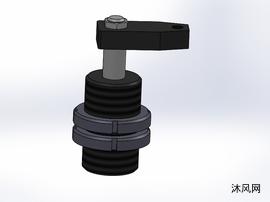 5款 KZG-LG油压全牙型转角缸