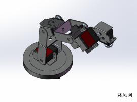 7自由度机械臂(不含机械爪)