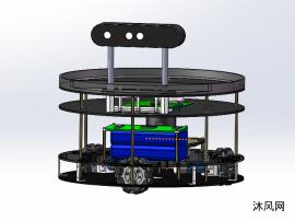 协助办公智能安防机器人设计