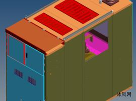 KYN61-40.5型开关柜架空后出线结构方案