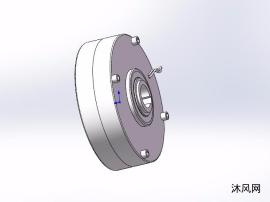7种EPB-KX中空旋轴型磁粉制动器