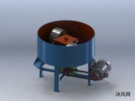 雙輥輪碾攪拌機