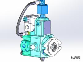 sw液壓泵模型