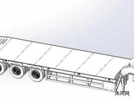 低底盤拖車設計