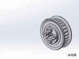 3类HHK系列免键梯形齿同步轮