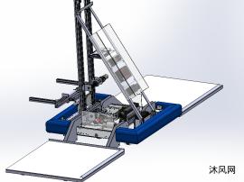擦地机器人模型