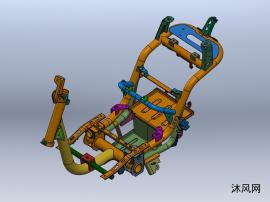 雅迪电动车车型车架