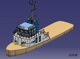 小型船船楼
