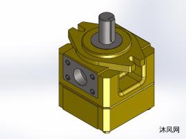 3款 NB3-D单级中压泵内啮合齿轮泵