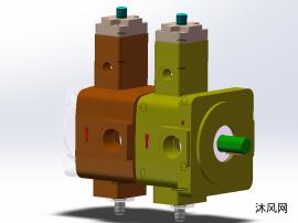 液壓變量泵之雙聯葉片泵模型設計