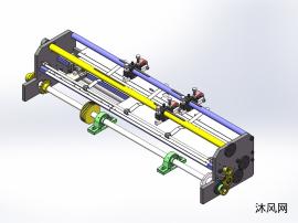 超高速印刷机送纸纠偏机构
