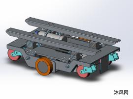 AGV小车模型设计