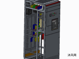 MNS2.0柜体3200A框架出线柜(1台断路器)