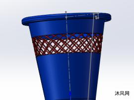 垃圾筐模型设计