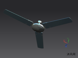 吊扇模型图