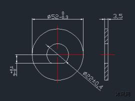 調節偏心輪沖孔落料模設計