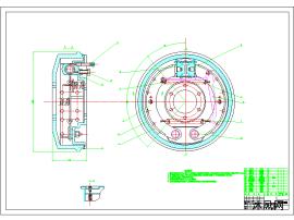 轿车制动系统设计图
