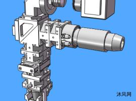 热熔打胶机构模型