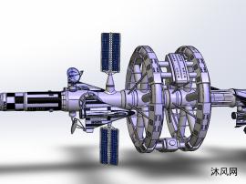 空间站模型SW设计