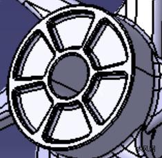 汽车轮子模子