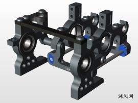 遥控车齿轮箱模型