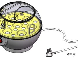 煮蛋器模型设计图