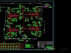 新氢压缩机(K-101A/B/C/D) 管道及仪表流程图